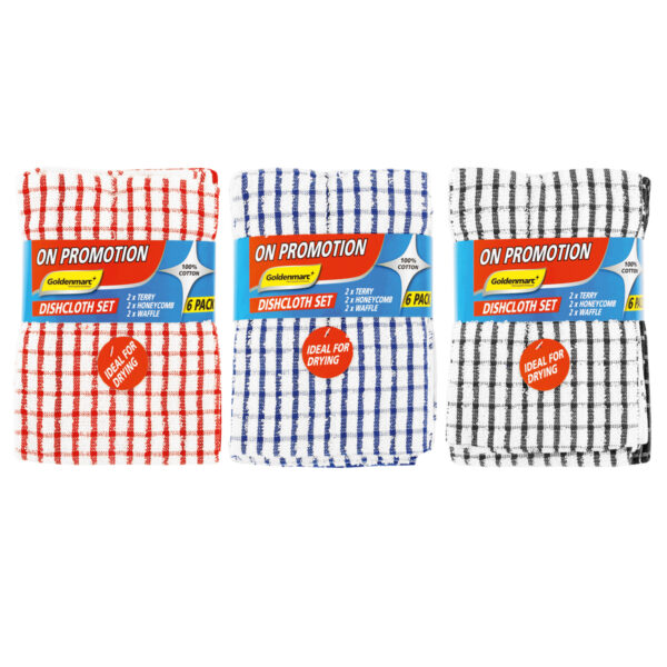 Dish Cloth Set with goldenmarc