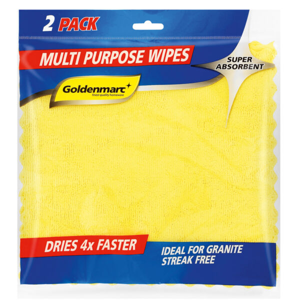 Multi Purpose Wipes with Goldenmarc